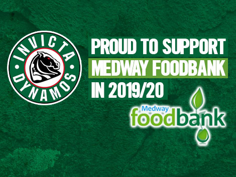 Invictadynamos Dynamos To Support Medway Foodbank In 1920
